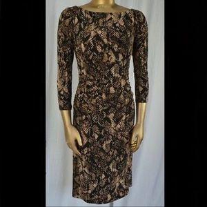 Ralph Lauren- Python Print Dress, Size 6